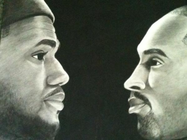 LeBron James, Kobe Bryant por Malik-2K10